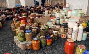 домашние запасы продуктов