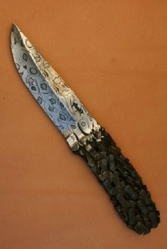 Нож из цепи